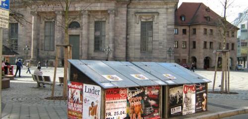 Plakatwerbung Nürnberg